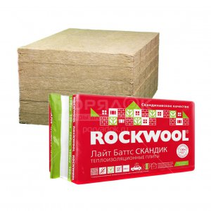 ROCKWOOL LAYT BATTS SKANDIK 35-50 MM